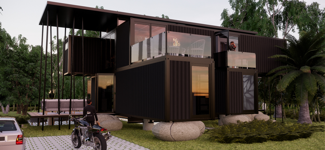 Amazing South African Container Homes For Sale