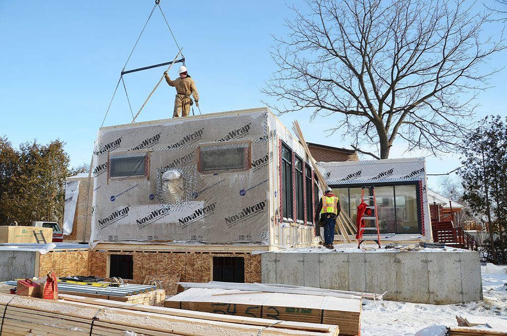 container home foundation